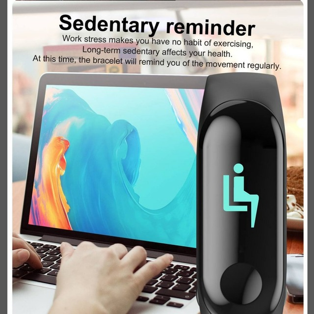 2019 Smart Sport Bracelet Wristband Blood Pressure Heart Rate Monitor Pedometer Smart Watch men For Android iOS 4
