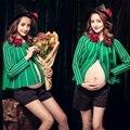 Gravidez mulheres Moda Roupas Fotografia Fotografia de Maternidade Tamanho Livre Malha Roupas de Grávida Foto Adereços Atirar Jogos Do Presente