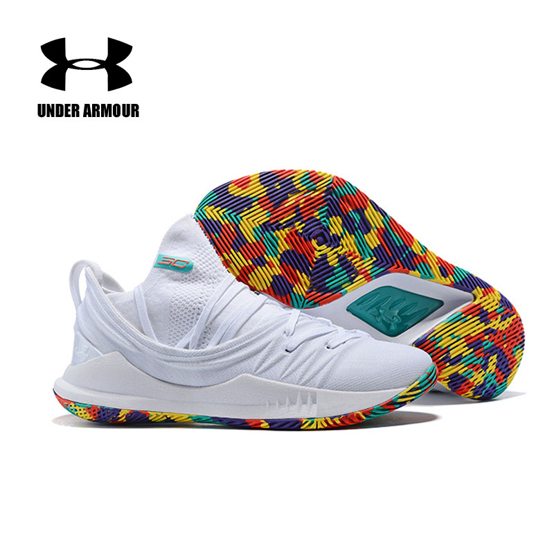High Quality Under Armour UA Curry 5 Sport Basketball Shoes Men zapatos hombre Sneakers Men Athletic Sport shoesHigh Quality Under Armour UA Curry 5 Sport Basketball Shoes Men zapatos hombre Sneakers Men Athletic Sport shoes