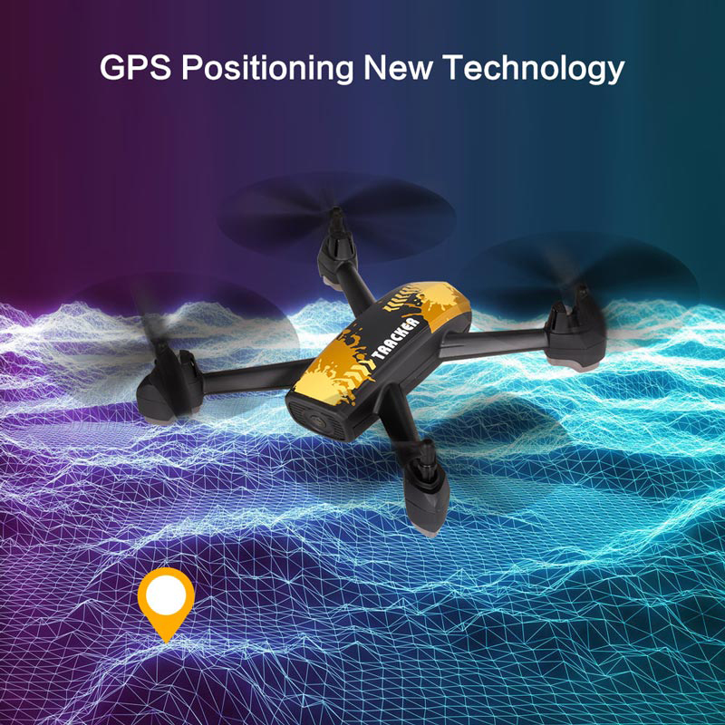 JXD 518 RC Quadcopter 720P HD Camera WIFI FPV GPS Mining Point Drone 2.4GHz 6 Axis Gyro Mini Drone 360 Rotation Headless Mode jxd 510g 5 8g rc quadcopters fpv 2 0mp camera 2 4ghz 4ch 6 axis gyro rc quadcopter barometer set height rc drones