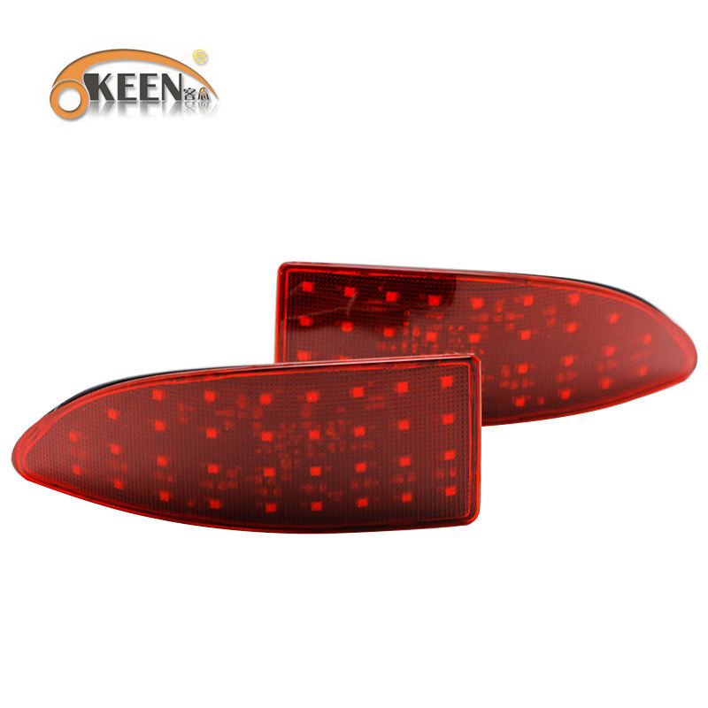 ФОТО Rear bumper reflector light for LexusIS250/IS300/IS350 Car Parking warning light accessories led Tail light LED red Tail lights