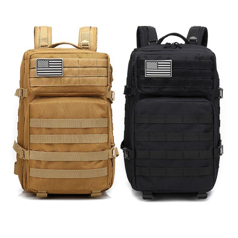 Sac à dos tactique militaire grand Pack d'assaut 3 jours sacs à dos armée Molle Bug Out sac en plein air randonnée sac à dos de chasse 42L