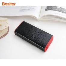 Porta de Carregamento Portátil para a para a Bateria do Telefone Besiter Smart Power Banco 10000 MAH Carregador Dual USB Bateria do Telefone Celular Externa Packs para Presente