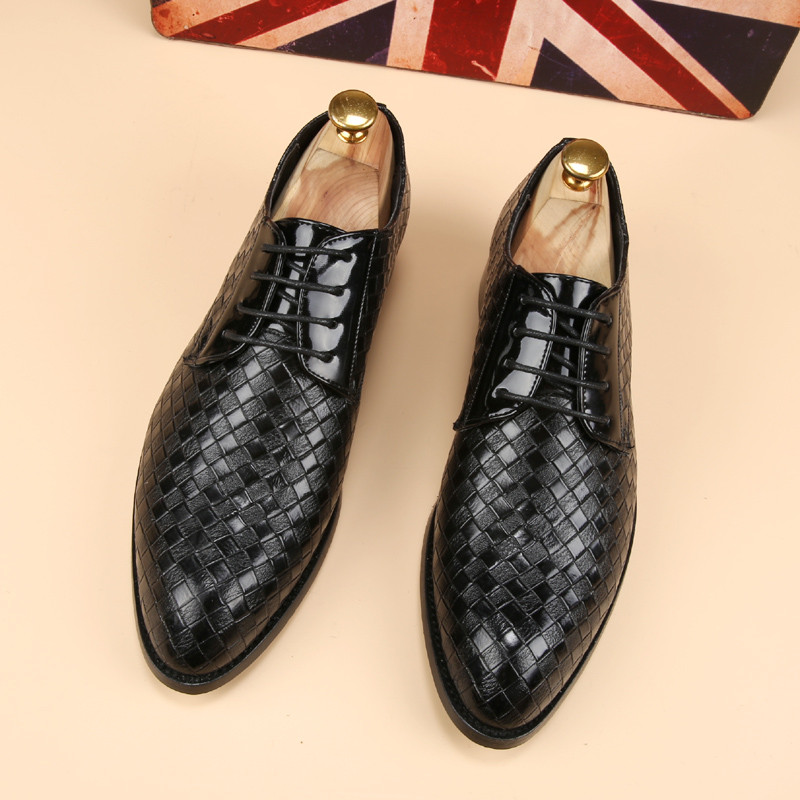 glossy dress bespoke men shoes luxury brand retro italian comfort topsiders footwear unique vintage formal party loafer flats (3)