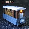 Оригинальные Дети toys Томас и Его Друзья электрический Голос Поезд литья под давлением металл Поезда двигателя toys Тоби Автомобиль со светом