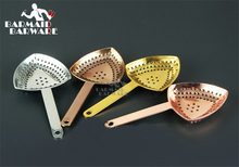 Stainless Steel Julep Bar Strainers For Cocktail Drink Bartender Tool