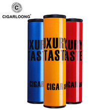cigar moisturizing tube travel metal sealed over jars fitted with hygrometer humidifier CL-030