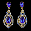Fashion Jewelry Water Drop Earrings Big Earrings Women's