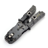 Network Cable Crimper Tool Pliers Tester LAN Ethernet RJ45/RJ11/RJ9 6P DEC 4P 8P Crimping pliers Removable Network tester