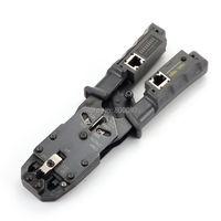 Network Cable Crimper Tool Pliers Tester LAN Ethernet RJ45/RJ11/RJ9 6P DEC 4P 8P Crimping pliers Removable Network tester