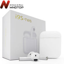 Для I9S TWS двойные беспроводные наушники портативная гарнитура с Bluetooth, вкладыши для наушников с микрофоном для IPhone X 8 7 Plus для мобильных телефонов смартфонов