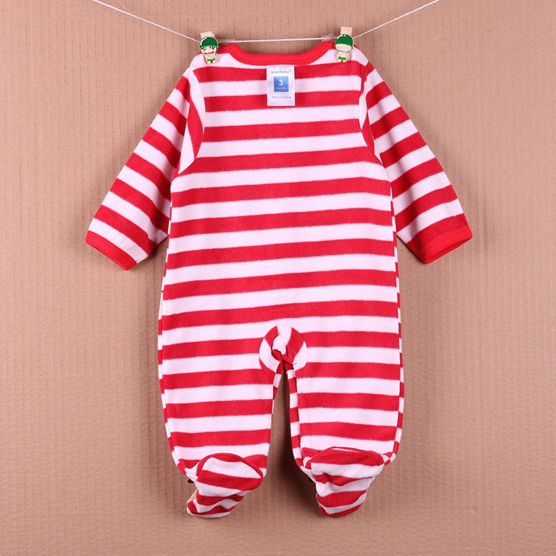 New Arrival Baby Footies Boys&Girls Jumpsuits Spring Autumn Clothes Warm Cotton Baby Footies Fleece Baby Clothing Free Shipping (20)