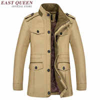 Winter jacket for men warm fur men winter coat mens winter parkas KK1651 H