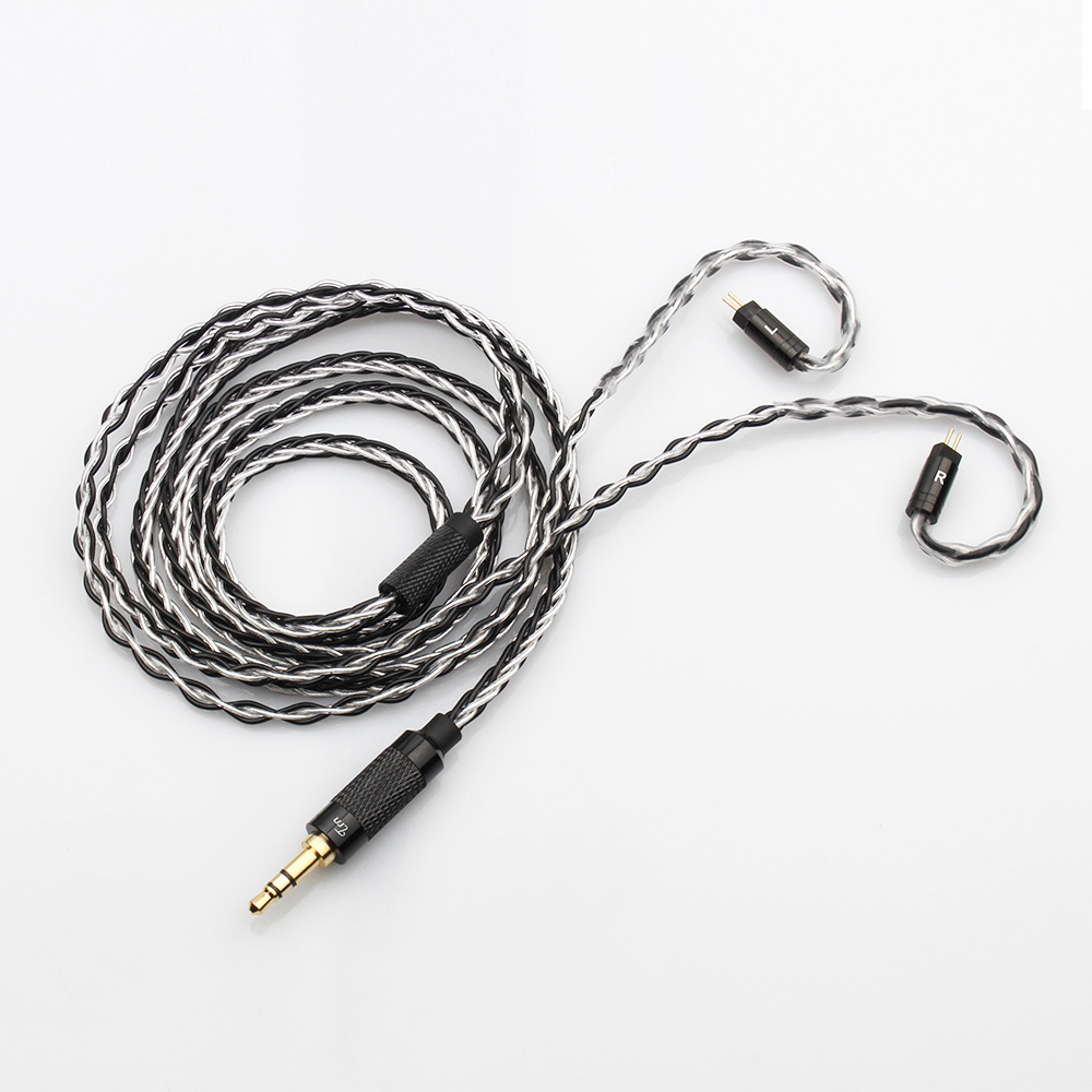 Portable Audio & Video Earphone Accessories Generous Trn 8 Core Silver Plated Cable Hifi Earphone Mmcx/2pin Connector Use For Trn V10/v20/v60 Tfz Hq8 Hq6 Hq5 Earphones Cables