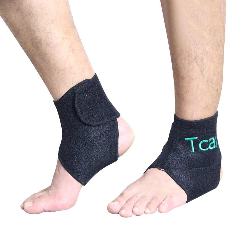 Cuidado 1 par de turmalina autocalentable Soporte de tobillo Terapia - Cuidado de la salud - foto 3