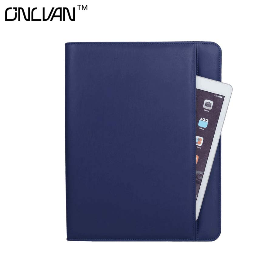 Navy Color Manager Notebook with 6000 mAh Power Bank Office Supply Document Bags Business travel Accessories Accept OEM Order manager folders with 4000mah mobile power multifunction cument holder manager holders office supply work accessories