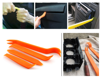 universal 4PCS car audio door removal tool auto parts multifunction for BMW all series 1 2 3 4 5 6 7 X E F-series E46 E90 X1 image
