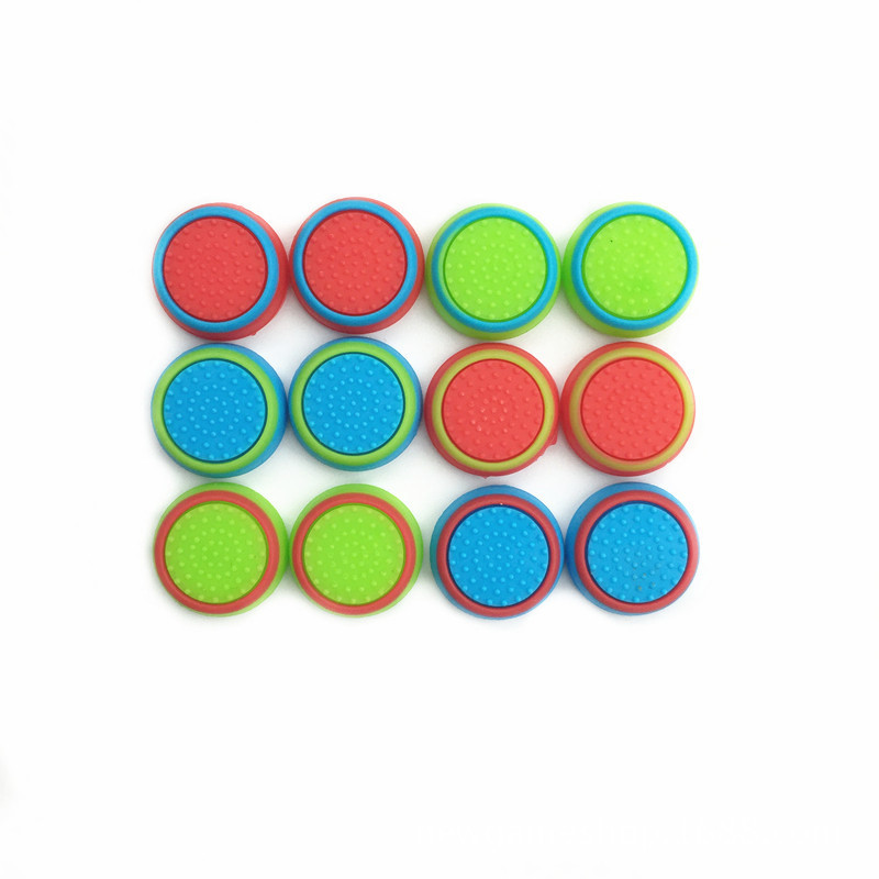 New Arrival Non-slip Silicone Analog Joystick Thumbstick Joystick Cap Cover for PS3/PS4/XBOX ONE/XBOX 360 Wireless Controller