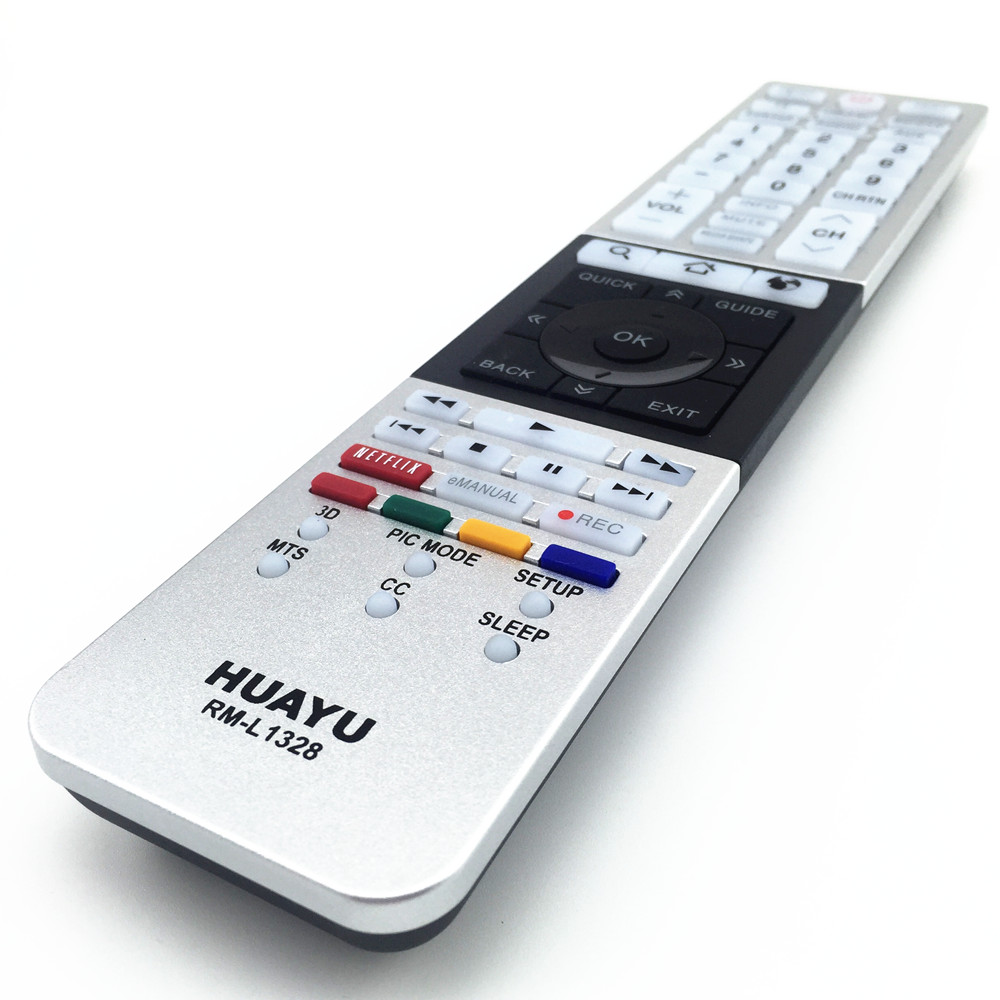 Rm l1328 compatible for toshiba tv remote control 58l7350u 58l9300.