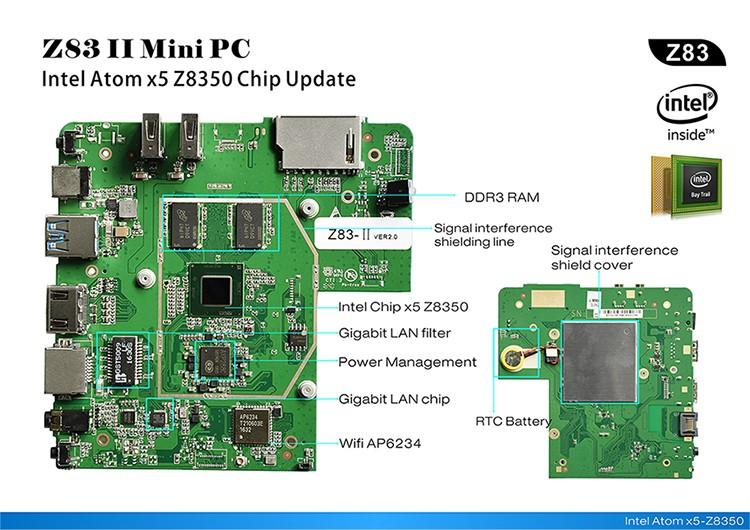 Z83II MiniPC-Intel-x5-Z8350-6