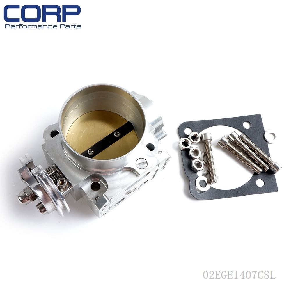 Aluminum 70mm Throttle Body For Mitsubishi Lancer: Fit FOR Mitsubishi Lancer EVO 1 2 3 4G63 Turbo S90