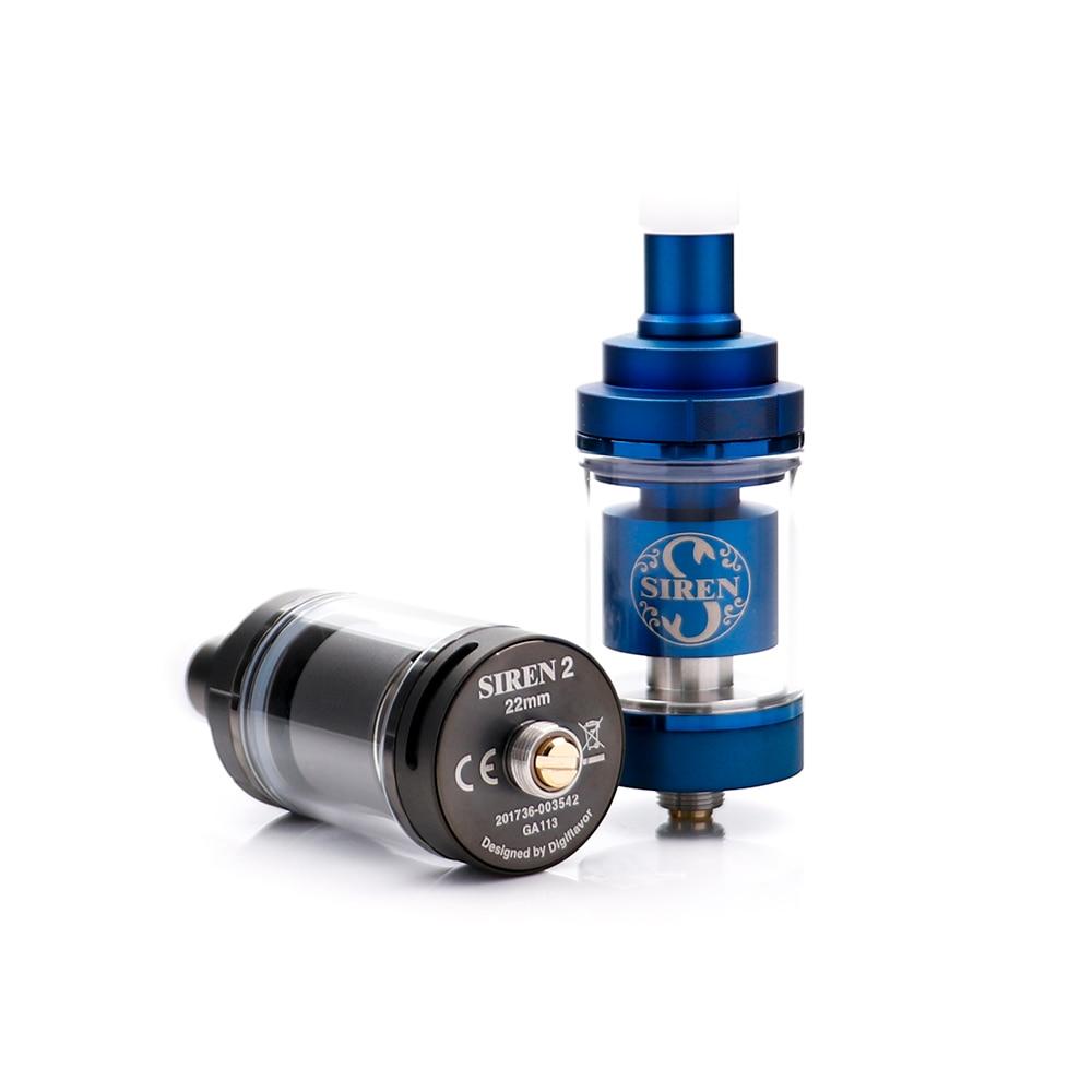 Grande vendita Originale Digiflavor Sirena V2 GTA MTL Serbatoio 24 millimetri 4.5 ml sirena 2 22mm 2 ML elettronico sigaretta atomizzatore