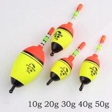 5Pcs/lot ishing float EVA sea pole fishing floats Waterproof paint boya flotador boia flutuador boia flotteur peche coup boias