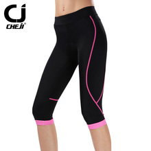 Womens Cycling  Short Bike Clothing Breathable Quick Dry Bicycle Clothes Sportswear Cool Max Pad bicycle shorts