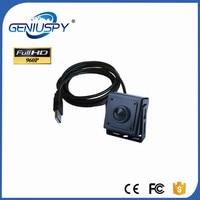 34x34 미리메터 CCTV 마이크로 크기 미니 USB 카메라 1.3MP 960 마력 USB 미니 보드 카메라 ATM