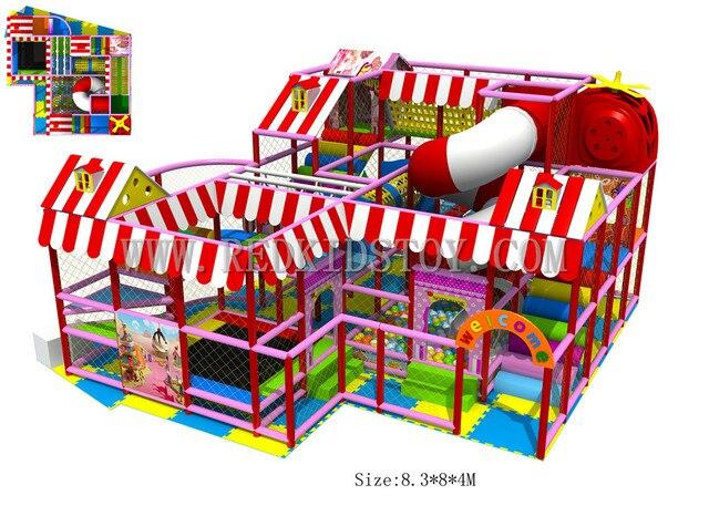 Exported to Zimbabwe Children Play Structure Commercial Indoor ...
