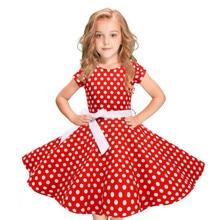 fa1b31f5aea5f Buy polka dot little girl dress and get free shipping on AliExpress.com