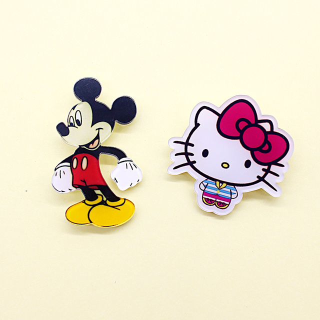Cartoon Hello Kitty Brooches