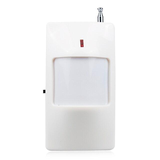 2 Frequenza Opzionale Rivelatore Senza Fili di PIR per antifurto casa sistema di sicurezza domestica 433/315 MHZ sensore di movimento