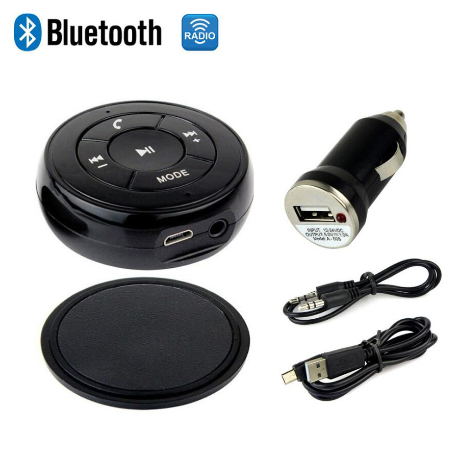 New Wireless Bluetooth Receiver Stereo Audio Music Speaker Adapter font b Handsfree b font Car Kit