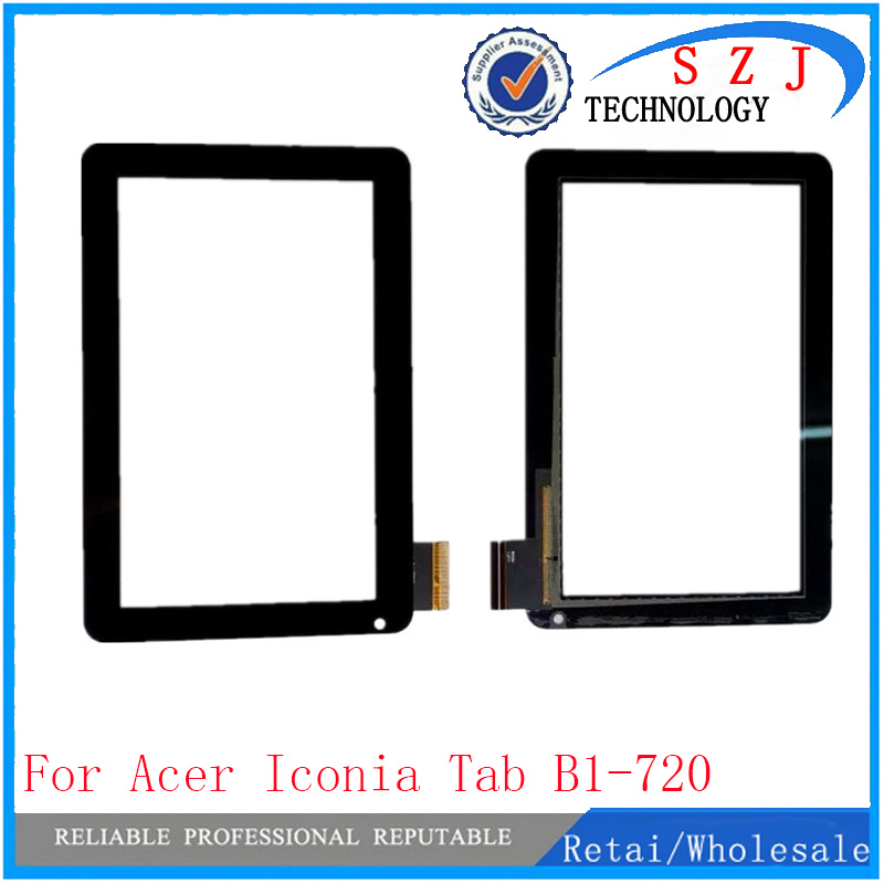 New 7'' Inch For Acer Iconia Tab B1-720 B1-721 B1 720 721 Touch Screen Panel Digitizer Glass Lens Repair Parts Replacement new 7   inch for acer iconia one 7