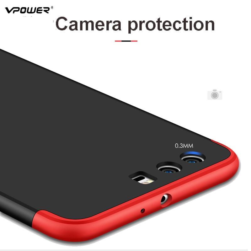 Vpower για Huawei P10 Case Huawei P10 Plus Cover Full Body Body - Ανταλλακτικά και αξεσουάρ κινητών τηλεφώνων - Φωτογραφία 3