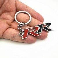 עבור הונדה crv crv 1pcs חדש סגסוגת מתכת Keyring Keychain רכב לוגו RR עבור CRV אקורד Mugen RR הונדה סיוויק סיטי HRV מחזיק מפתחות רכב-סטיילינג (1)