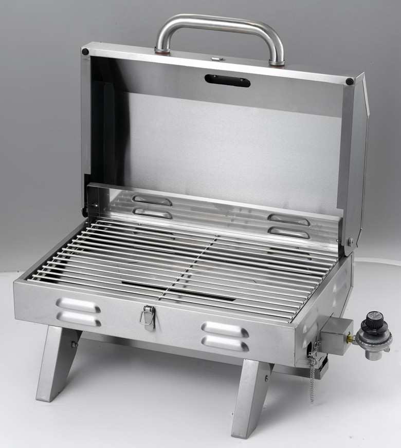 car portable gas bbq all stainless steel high end barbecue. Black Bedroom Furniture Sets. Home Design Ideas