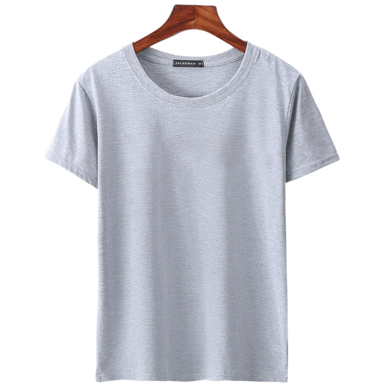 6pcs Lot T Shirts Men Women Cotton Summer Short Sleeve Solid Male Female Fitted Tshirts Top Tees O-Neck Plus Size Tee shirt MuLS 07