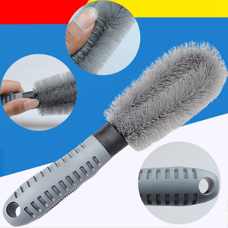 New Truck Car Motorcycle Wheel Tire Rim Hub Clean car wheel brush Cleaning Tool Car styling Accessories