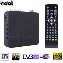DVB T2 Tuner MPEG4 DVB-T2 HD Set Top Box TV Receiver W / RCA / HDMI PAL / NTSC Compatible Box Conversion RUSSIA / EUROPA / THD