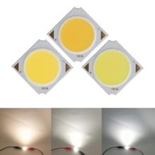Factory sale 19mm Square Aluminum Board LED COB Strip Epistar chip Light Source Module 10W 15W 20W 30W for bulb lamp