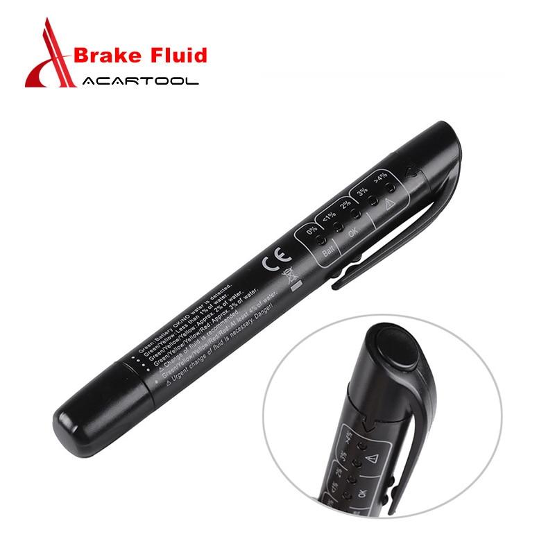 Xtool Auto Car Brake Fluid Tester Check Fluid Quality 5LED Indicator For DOT3/DOT4 Diagnostic Tool Testing Automotive Pen Black тормозная жидкость mobil brake fluid dot4 500 мл