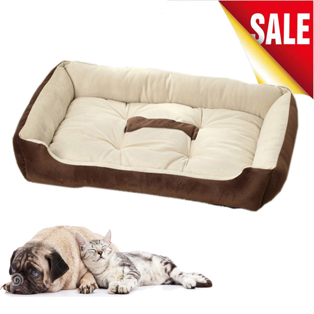 soft sofa dog bed antique style brown leather 6 size for 0 30kg pets basket mats home pet large dogs cats puppy pitbull blanket
