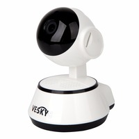 ENKLOV Home Security IP Camera Wireless WiFi Camera Surveillance 720P Night Vision Cctv Camera Baby Monitor
