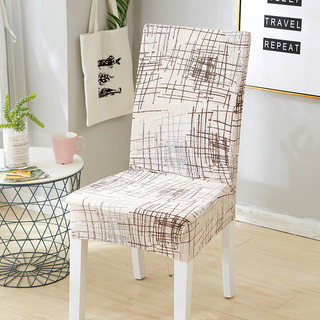 spandex elastic chair cover slipcovers stretch protection dining