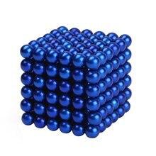 216 stücke 5mm Magnet Kugeln Perlen 3D Puzzle Ball Kugel Magnetische Spielzeug Für Kinder LKT
