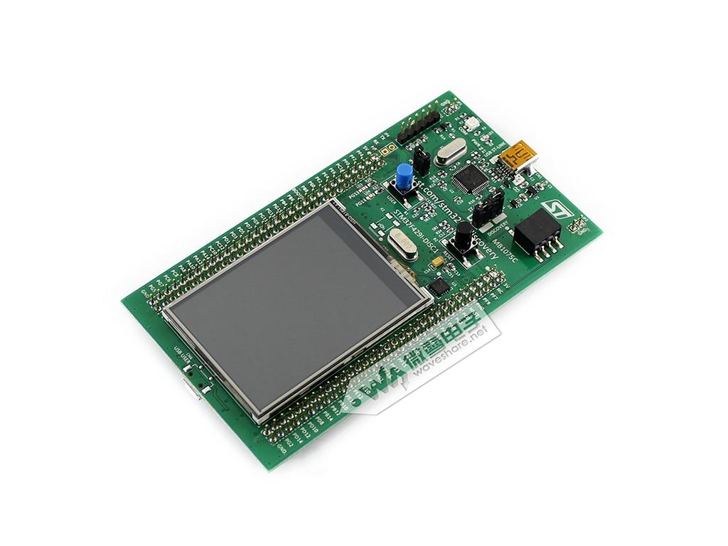 origianl ST STM32 Discovery Kit STM32F429I-DISCO/STM32F429I-DISC1 32f429idiscovery stm32f429i disc1 stm32f4 discovery kit stm32 board embedded on board debug tool st link v2 b