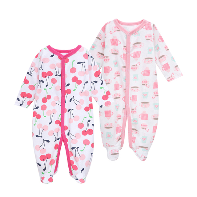 a0d8d8331 Baby Rompers clothes long sleeved coveralls for newborns Boy Girl ...