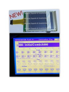 New Korg Display with Touch Screen Digitizer for Korg Triton PRO LCD SCREEN DISPLAY TOUCH SCREEN PANEL